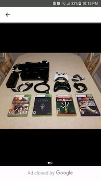 Xbox 360 250 gb with 24 games and Kinect! Barrie, L4N