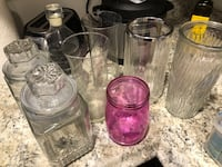 Assorted Vases and Glassware