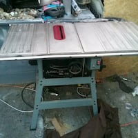 gray and black delta10 inch table saw Cambridge, N1R 4M2
