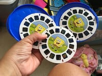 Viewmaster Spongebob with 3 slides disk Garden Grove
