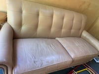 Leather couch  Thurmont