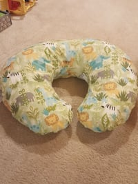 green and brown animal print nursing pillow Alexandria, 22310