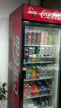 Single Door Coke Fridge Cooler Toronto, M6N 3P1