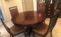 Extending Dining Table & 6 Chairs - originally $1900