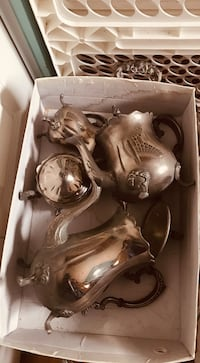 Two silver coffee and tea set Laval, H7X 1B9