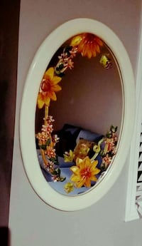 white frame wall mirror Kitchener, N2E 0B4