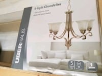 UberHaus 5 Light Chandelier sealed unopened Milton, L9T 8A8