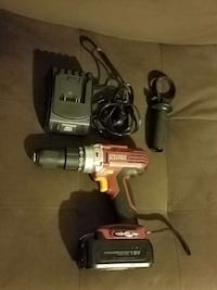 18v drill with case and charger