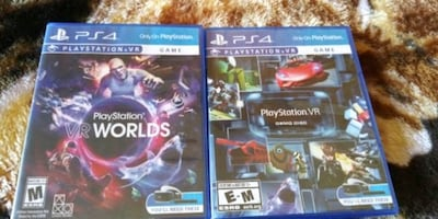 PlayStation 4 VR games both $30