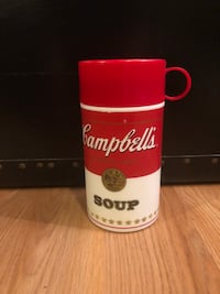 Vintage 1998 Campbell's Soup Thermos Herndon, 20171