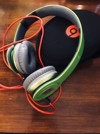 Beats by Dre lime green