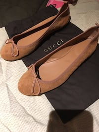 Authentic Gucci Suede Micro GG Ballet Flats Warwick, 02888