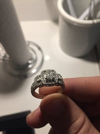 Michael Hill one of a kind engagement and wedding band  Vancouver, V5L 1V9