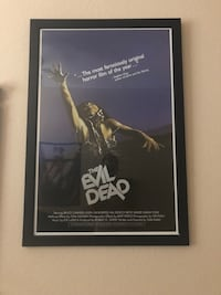 """The Evil Dead"" Original Movie Poster Framed w/ Wire (27""x38"") Fort Myers, 33908"