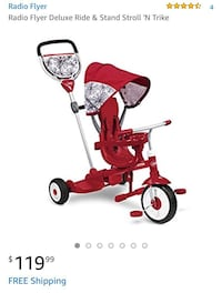 Radio flyer 4 in 1 stand and sit