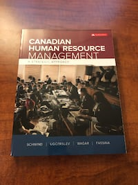 Canadian Human Resource Management 12th Edition MISSISSAUGA
