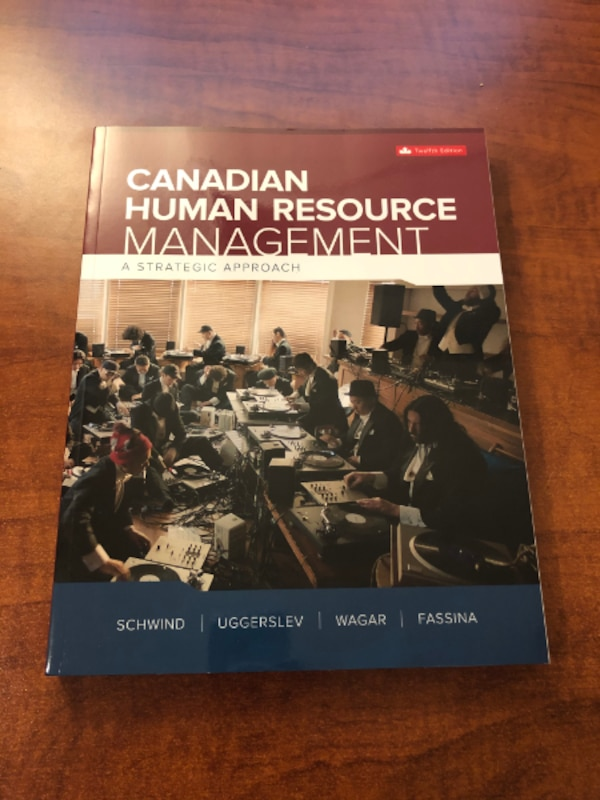 Canadian Human Resource Management 12th Edition bce32d1b-2ff2-4949-8a17-f26ba47a39e0