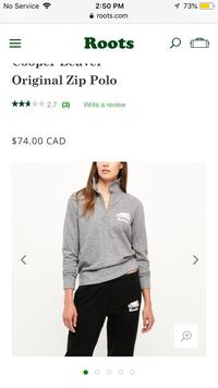 roots pull over sweater Hamilton, L8K