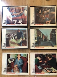 Original 1957 James Dean Movie Lobby cards by Warner Brothers makes great art for home, office or theatre San Jose, 95125