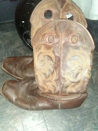 men's brown cowboy boots