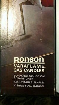 Vintage Ronson Butane candle sticks