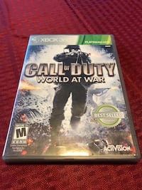 COD World at war Xbox 360 Tulare, 93274