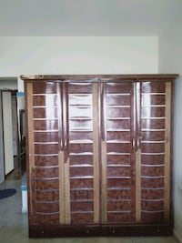 brown wooden cabinet with mirror Mumbai, 400104
