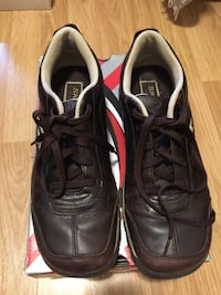 Leather sport shoes - women's size 9