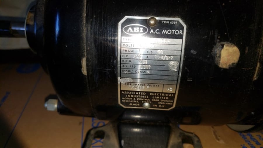 Electric motor 3/4 HP Never used 1