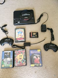 Sega  genesis game system w/games and controllers Lombard, 60148
