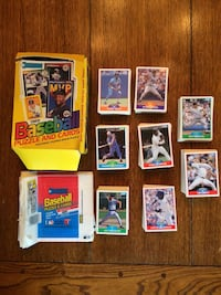 Approximately 500 1989 Score Baseball Cards with empty 89 Donruss box. Northport, 11768