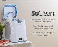 Cpap cleaning machine
