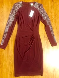 Maroon cocktail dress (tags attached) Newport Beach, 92663