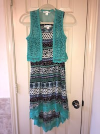 Knit works girls dress sz.8 Montgomery, 77356