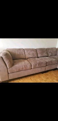 L- shape sofas with ottoman