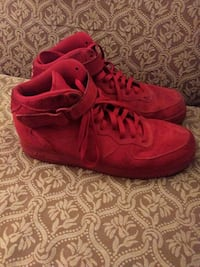 Suede air force ones