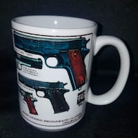 Cuppa A Mug for Everyone John Moses Browning's Classic Original 1911 Collectible 15 oz Mug Made in St. Petersburg FL U.S.A. Las Vegas