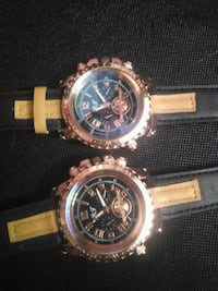 Two bronze watches New York, 11375