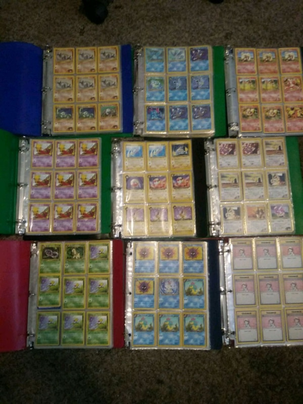 Used Assorted Pokemon Trading Card Collection For Sale In