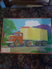 1955 semi puzzle by Bradley co.! Vancouver, 98684
