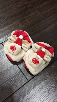 Baby shoes - Christmas Reindeer