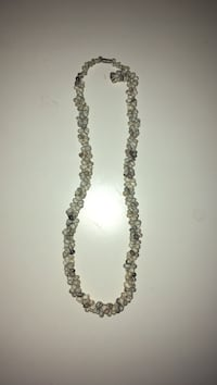 black and silver beaded necklace Kitchener, N2R 1T9