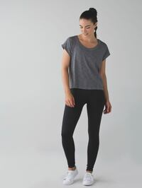 Lululemon Zone In Compression Tights Black Size 4 Excellent Condition 3157 km