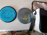 2 frolf discs and a bag Fargo, 58104