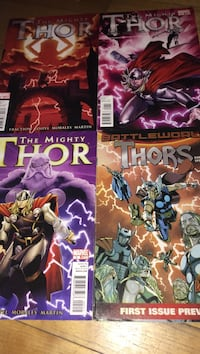 two Marvel Avengers comic books Montreal, H3W 2E7