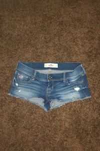 Hollister low rise shorts