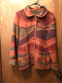 Large soft warm ladies jacket. Edmond