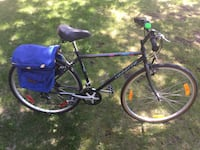 """AVP Action Velo Plus Real Chromoly Medium 19.5"""" frame 21 speed 28"""" wheels, reliable bike  Shimano SIS components, rear rack, sacoche, kickstand, bottle holder, ring bell, reflectors  for someone  5,5"""" - 5.10""""  made in Quebec Montréal, H4M"""