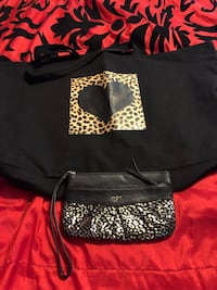 Extra lg cheetah tote and clutch  Albuquerque