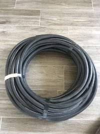 black and white coated cable Calgary